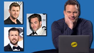 Chris Pratt Takes BuzzFeed's ″Which Famous Chris Is Your Soulmate?″ Quiz