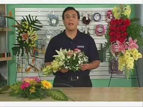 Con que hacer un arreglo de flores colgante grande