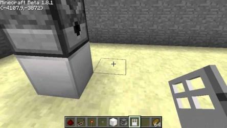 Minecraft Fridge 1