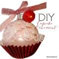 Diy cupcake ornaments christmas diy holiday how to youtube