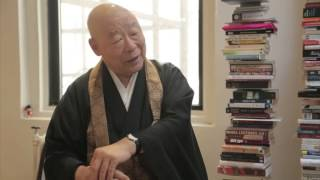 Zen Master Eido Roshi answers the question, 'Does God exist?'