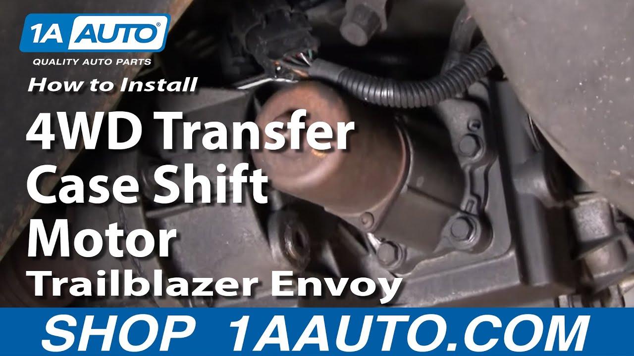 2007 chrysler aspen fuse diagram featherlite car trailer wiring how to install repair replace 4wd transfer case shift motor trailblazer envoy 1aauto.com - youtube