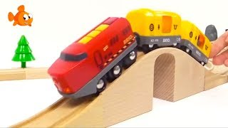 BRIO Toys Kid's Mega Choo-Choo Trains & Toy Cars for kids Toy Trains COMPILATION