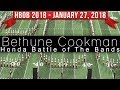 Bethune Cookman Marching Band BCU - 2018 Honda Battle of the Bands HBOB BOTB