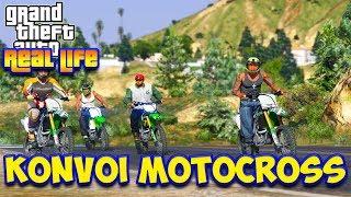 AYO KITA KONVOI MOTOCROSS ! || GTA 5 MOD DUNIA NYATA (GTA 5 REAL LIFE)