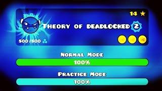 THEORY OF DEADLOCKED 2!! - GEOMETRY DASH 2.1 - (HYBRID DEMON)