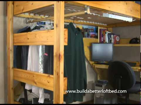 Way More Than A Bed On Stilts Buildabetterloftbed Com