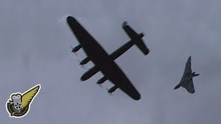 Three Avro Bombers