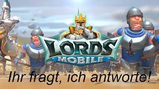 Lords Mobile deutsch #333 [/Q&A/ Trainingstemposet? 41 Mrd. Spieler - Was ist mit Pirate Beast?]