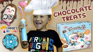 Chase's Corner: CHOCOLATE PEN - Drawing Tasty Treats (#17) | DOH MUCH FUN