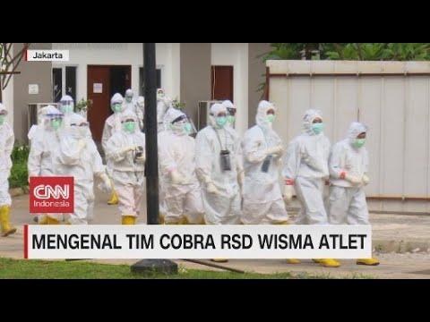 Mengenal Tim Cobra RSD Wisma Atlet