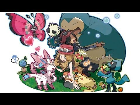 Pokemon X And Y Ost Calem Serena S Theme