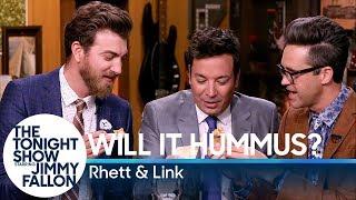 Will It Hummus? with Jimmy Fallon, Rhett & Link (Good Mythical Morning)