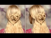 braided heart hair tutorial cute