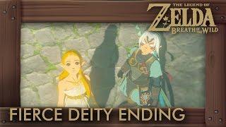 Zelda Breath of the Wild - Fierce Deity (Final Boss & Ending Cutscenes)