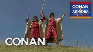 Conan & Sona Become Armenian Sheepherders - CONAN on TBS