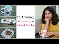 10 Amazing Microwave Food Hacks | Easy Microwave Recipes | Indian Kitchen Hacks