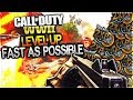 HOW TO LEVEL UP FAST IN WORLD WAR 2! HOW TO PRESTIGE FAST COD WW2!