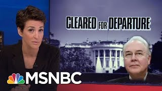 Pattern Of Abuse Of Taxpayer Money Seen In Wealthy Donald Trump Staff   Rachel Maddow   MSNBC