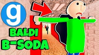 Brand New Baldi Gets B-Soda'd! Baldi's Basics in Education and Learning Gmod Saves Spotlight #2