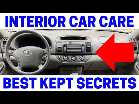 How To Keep The Inside Of Your Car Looking Like New!