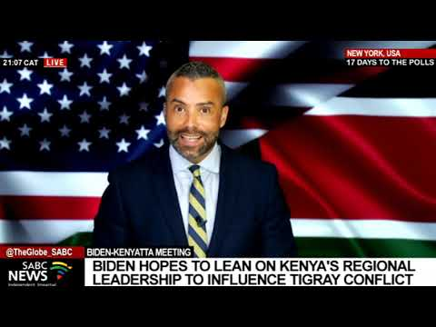 Update on meeting between Biden and Kenyatta: Sherwin Bryce-Pease