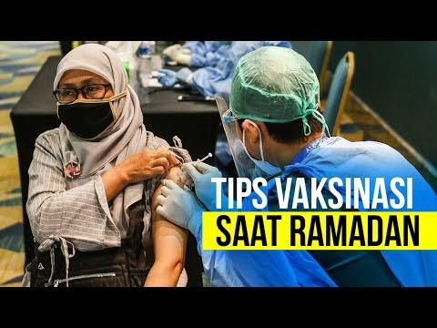 Tips Vaksinasi Saat Ramadan