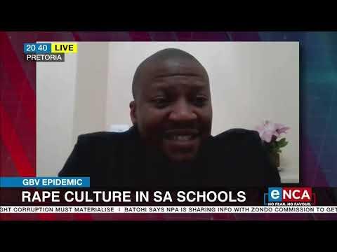 Discussion   Rape culture in SA schools