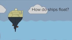How do ships float? Buoyancy!  YouTube