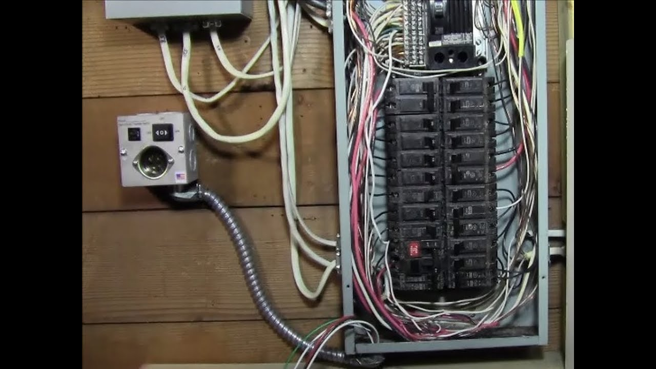 hight resolution of generator circuit breaker panel circuit breaker transfer switch generator transfer panel wiring diagram how to wire