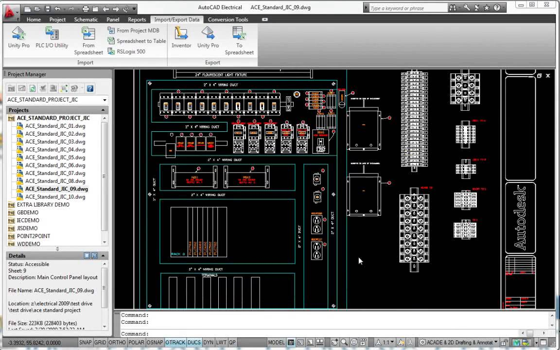 Motor Wiring Diagram Symbols Generate Plc I O Drawings From Spreadsheets Autodesk