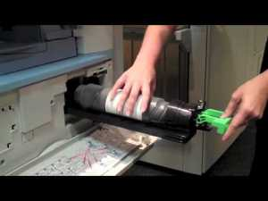 How to Replace Toner in your Ricoh B&W Copier  YouTube