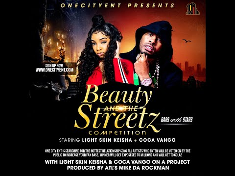 Win a song with Lightskin Keisha and Coca Vango, follow @onecityent on ig and sign up on www.onecityent.com