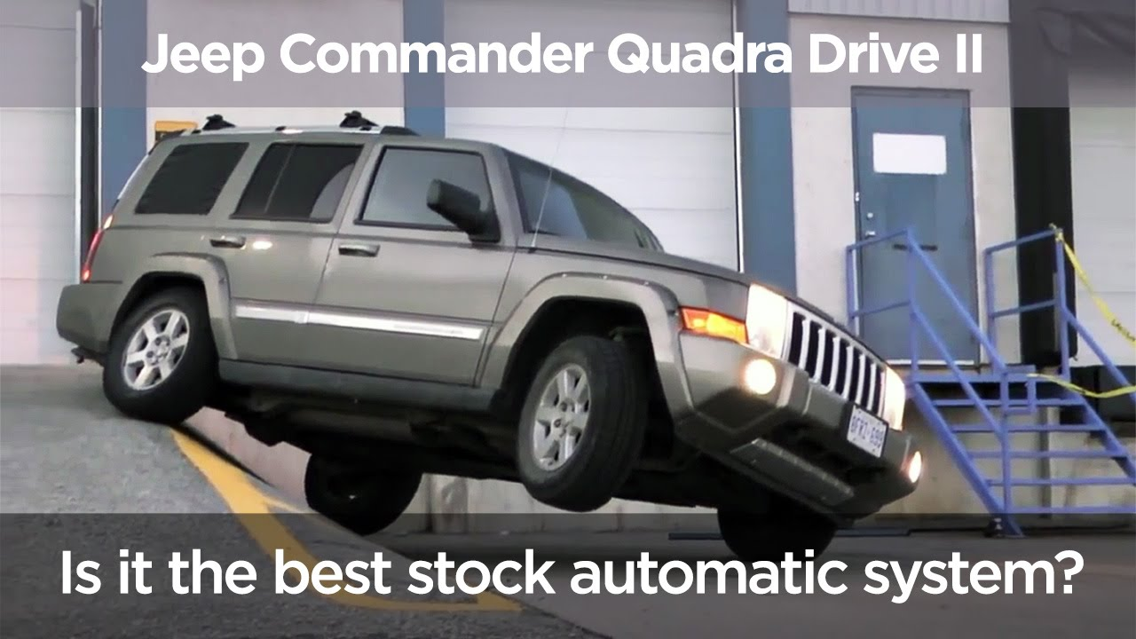 Traction Control Test On Jeep Commander Qtii Youtube