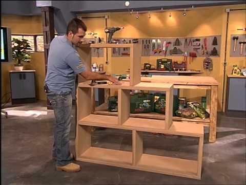 cmo hacer una estantera modular decorativa  YouTube