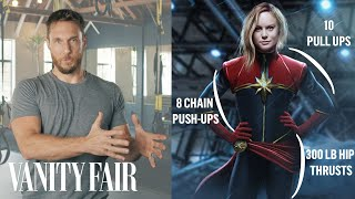 How a Celebrity Trainer Gets Actors in Shape for Movies | Vanity Fair