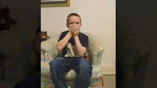 kid swallows a $100 led fidget spinner..