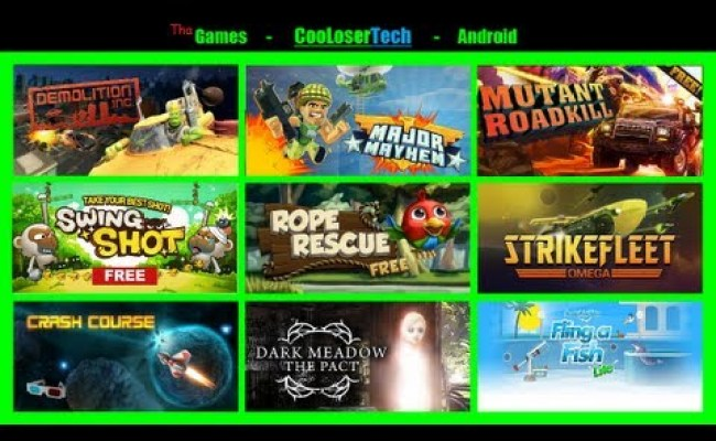 139 Top 10 Best Games On Nexus 7 Android Tablet More