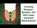 Trending Designer Neckline : DIY