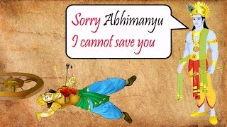 भगवान श्री कृष्ण ने क्यूँ नहीं बचाया था अभिमन्यु को ? Why Did Lord Krishna Not Save Abhimanyu ?