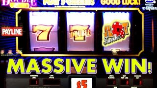 ★ MASSIVE WIN ★ HIGH LIMIT MAX BETS | SLOT MACHINE CASINO WIN