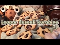 Leopar desenli kurabiye tarifi - How to make leopard pattern cookies