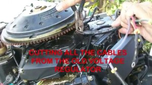 Replacing The $100 Voltage Regulator On Outboard Motors With A $4 Radio Shack Full Wave