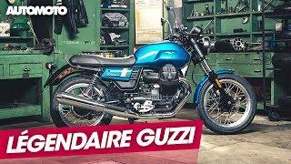 Moto Guzzi, la légende italienne du deux roues