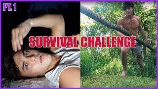 48 HOUR SURVIVAL CHALLENGE PART 1