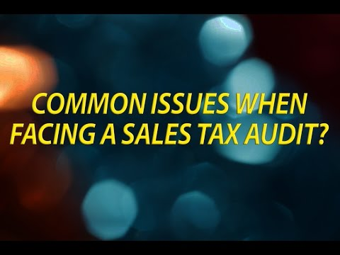 Common Issues When Facing a California Sales and Use Tax Audit
