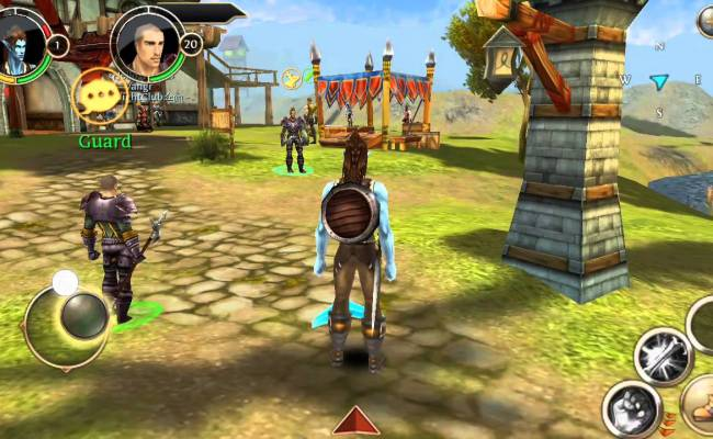 Order Chaos Gameplay Best Online Rpg Games Ios Android