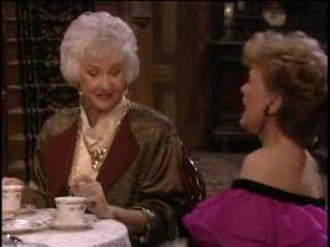 The Golden Girls  Blanche shares her views on flirting