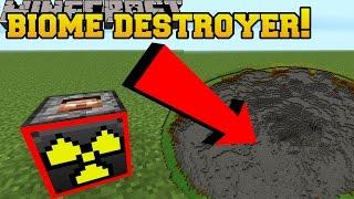 Minecraft: BIOME DESTROYING TNT!?!? - Explosives+ - Mod Showcase