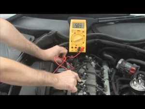 Testing CAM or CamShaft Position Sensor Hall Effect Type  YouTube